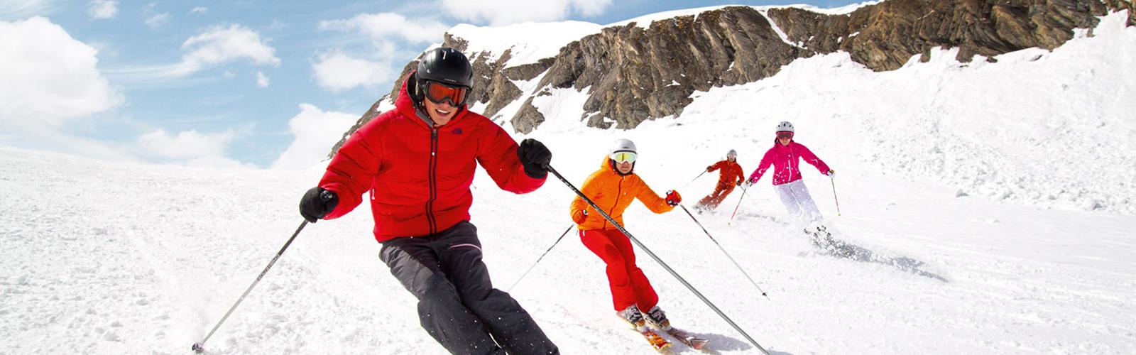 Esquiando con seguridad